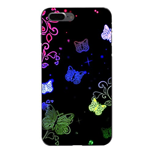 "Disagu Design Case Schutzhülle für Apple iPhone 7 Plus Hülle Cover - Motiv ""Butterfly Neon"""
