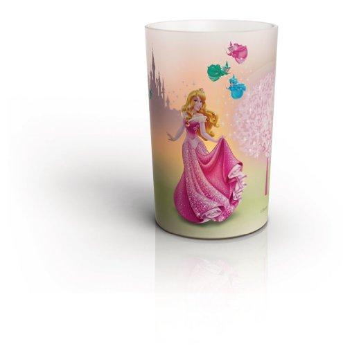 Candela Led Philips della Principessa Aurora della Disney - Lampada Candela Classe A