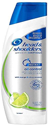 Citrus Head Shoulders Shampoo & (Head & Shoulders Instant Oil Control Dandruff Shampoo 12.80 oz (Pack of 2))