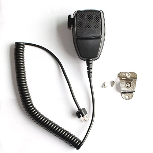 GoodQbuy Handheld Speaker with Mic Microphone Hanger for Rj45 8-pin Motorola Radio Cdm1250 Cdm750 Gm300 Gm338 Gm950 Maxtrac M1225 M200 GR500 (Motorola Cm200 Radio)