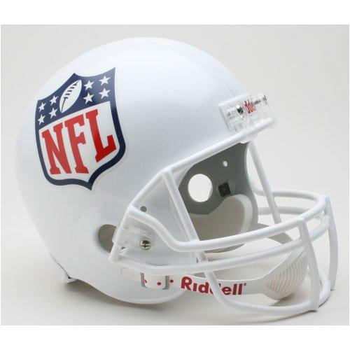 NFL Shield Logo Full Size ''Deluxe'' Replica NFL Helmet by Riddell