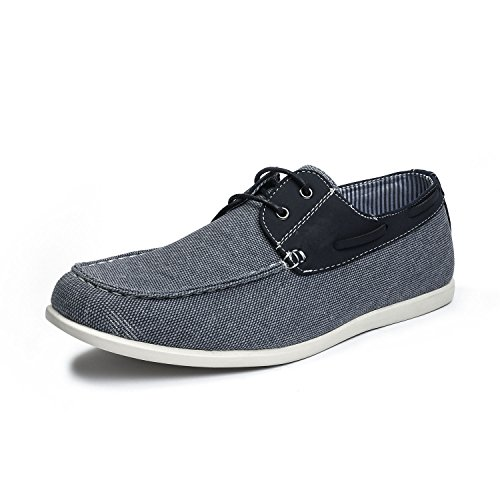 Bruno Marc Men's Province_02 Navy Casual Slip on Loafers Shoes Size 10 M US
