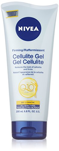 Nivea Firming CELLULITE GEL PLUS Q10 L-Carnitine 200 ml (6.8 fl oz) Made in (Q10 Plus Skin Firming Moisturizer)