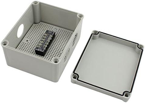Aexit 170mmx140mmx95mm 1 entrada a 2 salidas Caja de conexiones a prueba de agua con prensaestopas de conexión (68d2ea7a4cd6220c2a0386fdc897fb65): Amazon.es: Bricolaje y herramientas