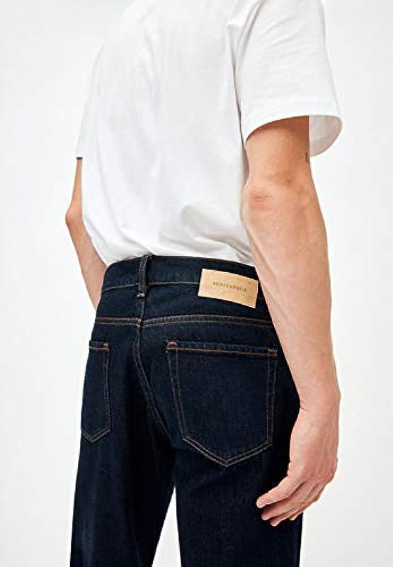 ARMEDANGELS DYLAAN - męskie Straight Fit Denim Denim Straight Fit, Denims / 5 Pockets Straight Fit: Odzież