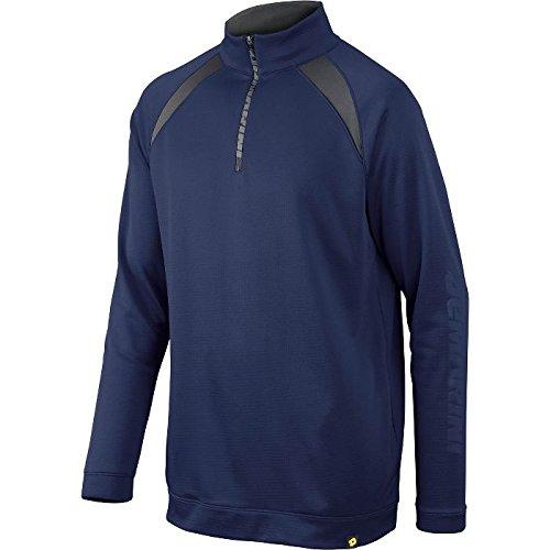 DeMarini Men's 1/2 Zip Heater Fleece Jacket, Navy, XX-Large ()