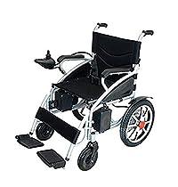 ComfyGO Heavy Duty Powerful Dual Motor Foldable Electric Wheelchair Motorized Power Wheelchairs