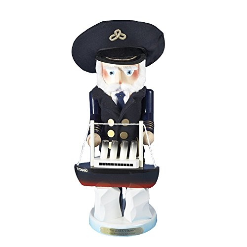 Retired Signed Karla Steinbach *Captain Smith* RMS Titananic Nutcracker 1912-2012