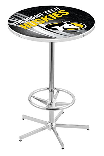 Holland Bar Stool L216C Michigan Tech University Licensed Pub Table, 28