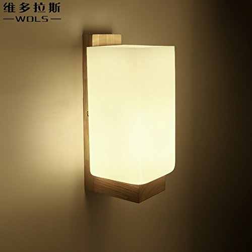 Senew bedside lamp wall lights minimalist modern bedrooms japanese senew bedside lamp wall lights minimalist modern bedrooms japanese wall lights solid wood new chinese wall aloadofball Images