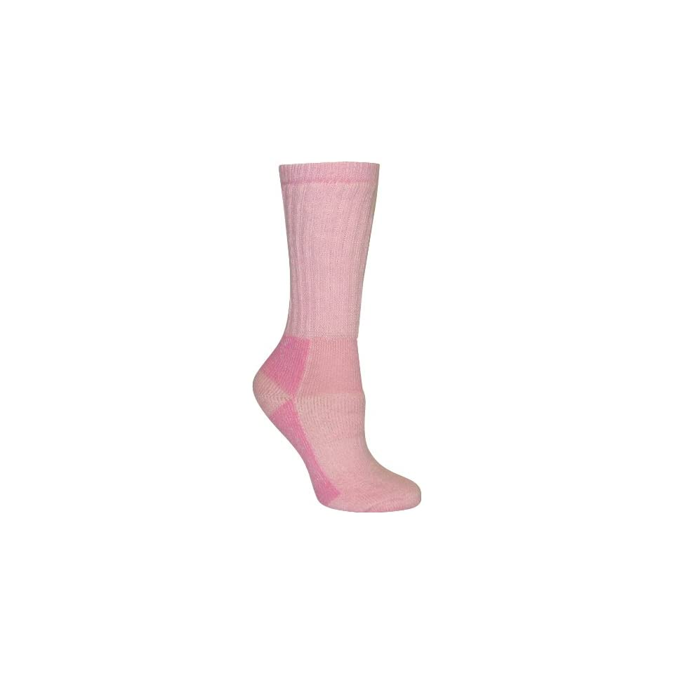 Rocky Womens Wool Hiker Socks, Pink, Medium
