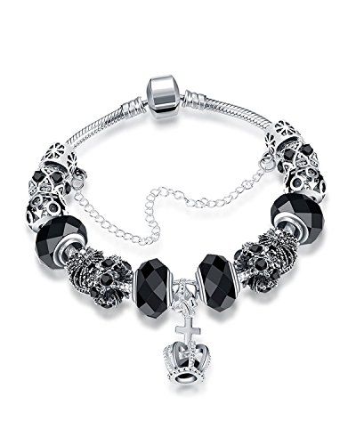 Young & Forever Women's Allure Collection Sterling Charming Charm daily wear/party wear bracelet gifts for Womens by Young & Forever