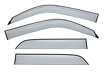 WELLvisors For Toyota 4Runner 96-02 Side Clip on Window Visors Clip-on