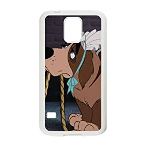 Samsung Galaxy S5 Cell Phone Case White Disney Peter Pan Character Nana 001 YE3449200