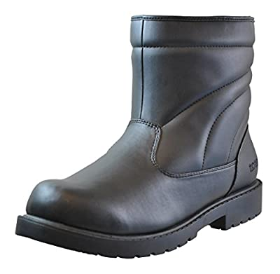 Totes Mens Waterproof Snow Boot, Available in Wide Fit