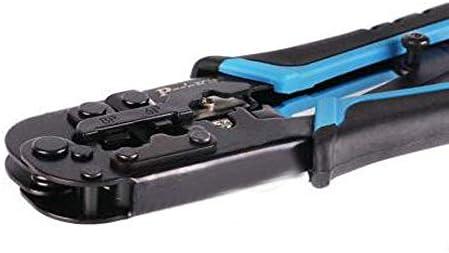 WY-WY ある家の修理、適しプライヤー、屋外産業メンテナンスプライヤー、ケーブル電話回線圧着ペンチ設定してみましょう、私たちはより強力なこと(色:ブルーブラック、サイズ19センチ) ラジオペンチ