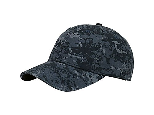 - TOP HEADWEAR Enzyme Washed Camouflage Cap - Midnight Digital Camo