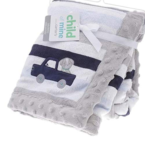 Carter's - Child of Mine, Blanket Soft Plush for Girl and boy (Truck) ()