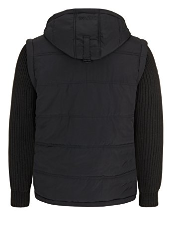 Tuxford Noir Pour D'hiver Veste Capuche Homme À Lonsdale London zx7wUgnq45