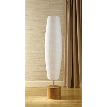 Mainstays floor lamp with bamboo finish amazon mainstays floor lamp with bamboo finish aloadofball Images
