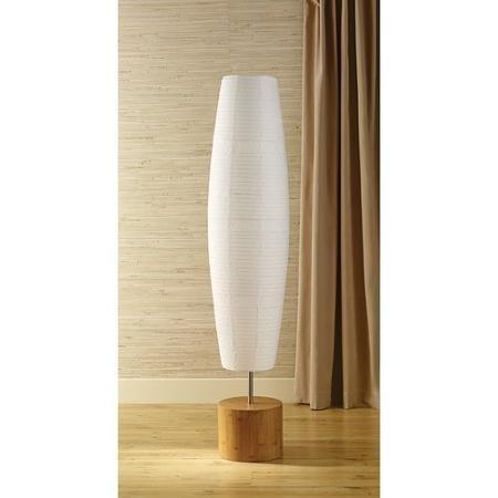 Mainstays Floor Lamp Bamboo Finish product image
