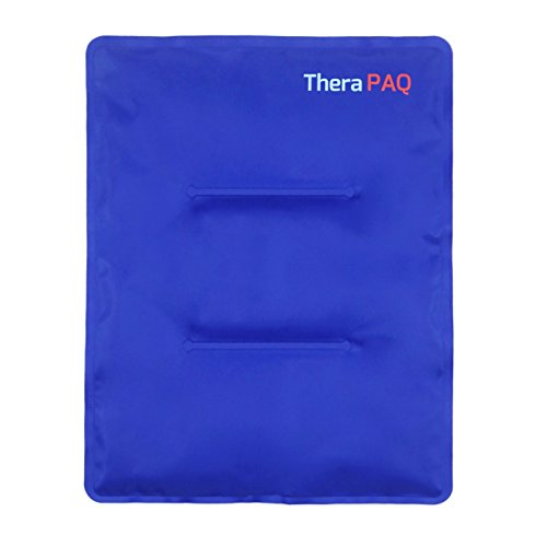 Large Gel Ice Pack by TheraPAQ: Reusable Hot & Cold Pack for Your Hips, Shoulders, Back, Arms, Legs, Knees - Refreezable & Microwavable Gel Pad for Pain Relief & Faster Injury Recovery (XL 14'' X 11'') by TheraPAQ (Image #1)