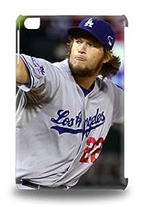Ipad Mini/mini 2 MLB Los Angeles Dodgers Clayton Kershaw #22 Print High Quality Tpu Gel Frame Case Cover