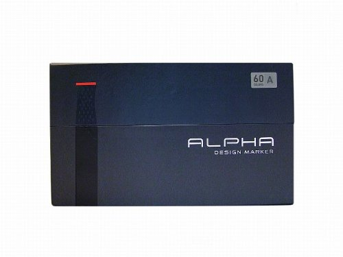 Alpha EF 60 Grafikmarker 60er Set A Box Design Marker