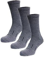 Merino Wool Hiking Socks - Premium Sport Socks For Men and Women - 85% Wool Hike Socks Unisex