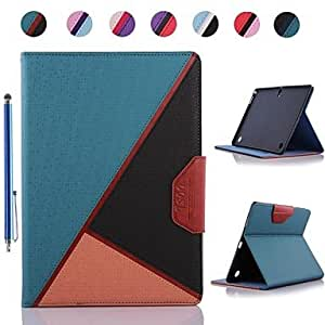 ZCL Fashion Colours Design PU Leather Full Body Case and Stylus for Samsung Galaxy Tab S 10.5 T800 (Assorted Colors) , 5