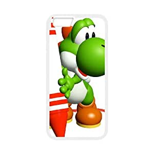iPhone 6 Plus 5.5 Inch Cell Phone Case White Super Smash Bros Yoshi 008 Swxrn