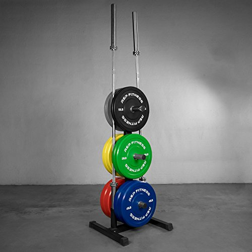 Rep Olympic Bumper Plate and Bar Holder