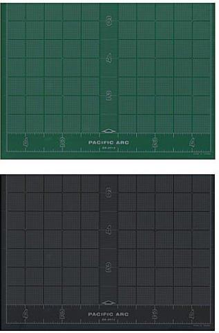 Pacific Arc Multipurpose Cutting Mats (Green/Black) - 8 1/2 In. x 12 In. 2 pcs sku# 1827277MA