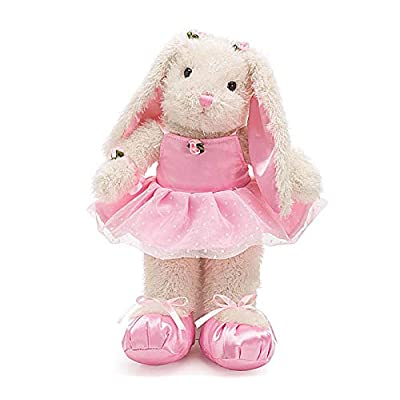 "Whimsical 15"" Ballerina/Ballet Bunny Plush Toy: Toys & Games"