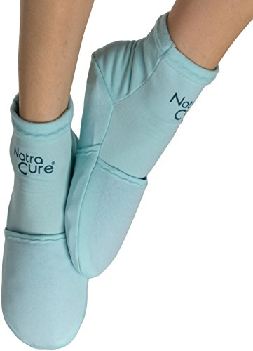 NatraCure Cold Therapy Socks - Gel Ice treatment for feet, heels, swelling, arch pain - (Size: Small/Medium)