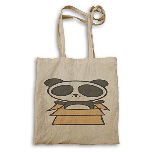 Modernes Panda-Gesicht Niedlich Tragetasche o794r