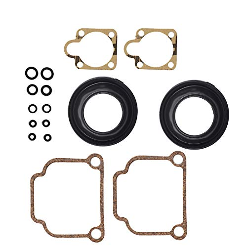 WFLNHB Carburetor Rebuild Kit for BMW Bing CV 32mm Carb Airhead R65 R75 R80 R90 R100