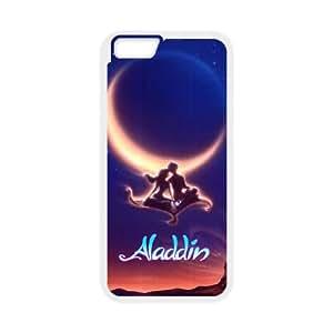 Aladdin 002 funda iPhone 6 4.7 Inch caja funda del teléfono celular del teléfono celular blanco cubierta de la caja funda EVAXLKNBC31826