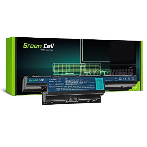 Green Cell® Standard Serie Batería para Acer Aspire E1-521 E1-531 E1-531G E1 -571 E1-571G V3-551 V3-571 V3-571G V3-771 V3-771G Ordenador (6 Celdas 4400mAh ...