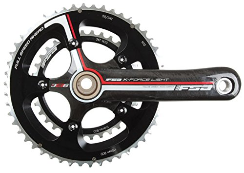 FSA K-Force Light BBRight 10sp crankset, 39/53t - 175mm