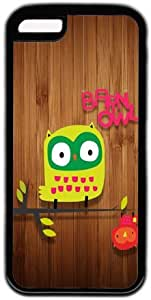 Cute Hanging Owl Apple iPhone 5C Case, iPhone 5C Cases Hard Shell Cover Skin Cases