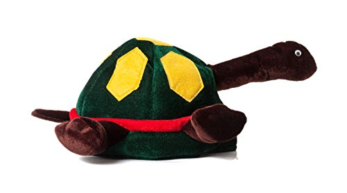 Turtle Hat Plush Animal Hat Novelty Hats Funny Party Hats (Adult Novelty Hats)