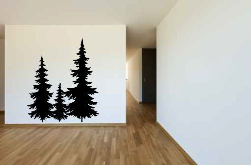 Fir Pine Trees Vinyl Wall Decal Sticker Graphic & Amazon.com: Fir Pine Trees Vinyl Wall Decal Sticker Graphic: Handmade