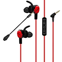 Gaming Earbuds with Mic for Nintendo Switch Xbox one PS4 Controller Headset, Headphones with Microphone PC Playstation 4 Xbox 1 S X