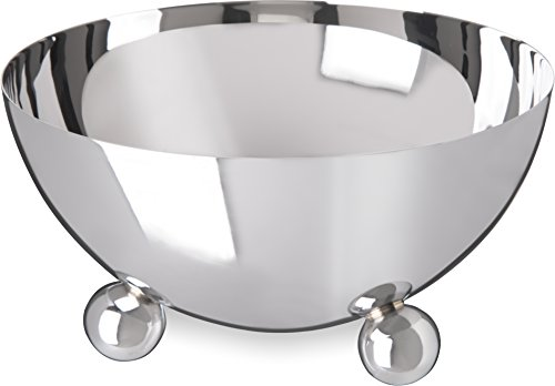 Carlisle 609172 Allegro 18-10 Display Bowl, 26 fl. oz. Capacity, Stainless Steel