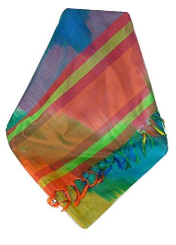 Varanasi Ekal 100% Foulard de Soie Jai 1 Gamme Heritage par Pashmina & Silk