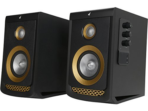 awesome computer speakers. rosewill computer speakers for music, gaming, movies and other entertainment, multimedia gaming speaker system, 2.0 channel woofer \u0026 tweeter, awesome