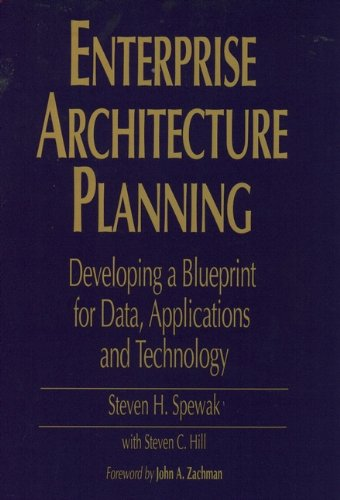 Enterprise architecture planning developing a blueprint for data enterprise architecture planning developing a blueprint for data applications and technology by malvernweather Image collections