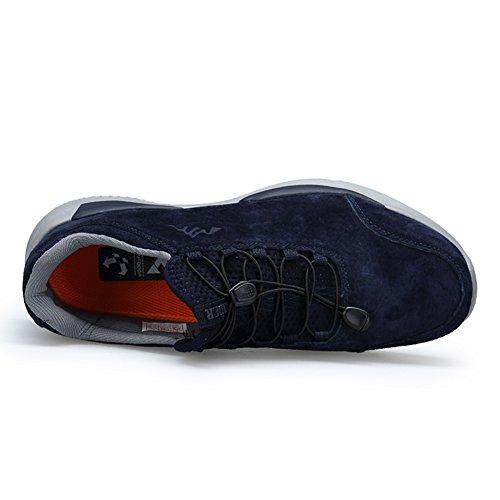 Atmungsaktive Schuhe Männer Frauen Leichte Wintermode Paar Outdoor Laufschuhe Dunkelblau