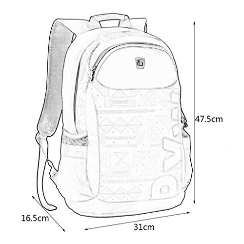 14 Backpack Korean School Laptop Students Bag Casual Sunnyday Women Travel Notebook Inch Men Purple Design Style 1H8YqYXwW